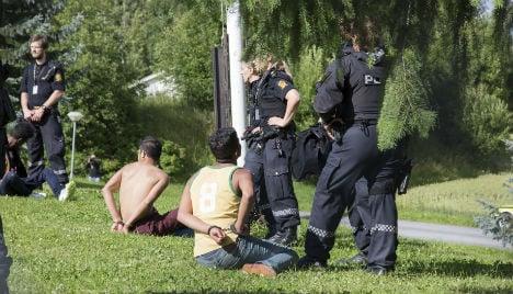 Norway to deport or jail rioting asylum children