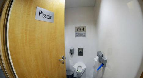 Women's urinals get scrapped in Salzburg