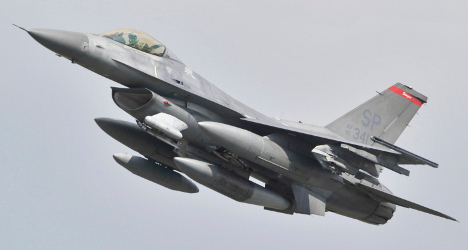 US F-16 fighter jet crashes in north Bavaria