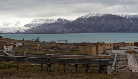 Bears stalk former Soviet Svalbard mining outpost