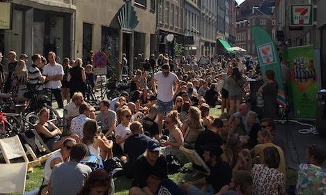 Festival brings fashion to the Copenhagen streets