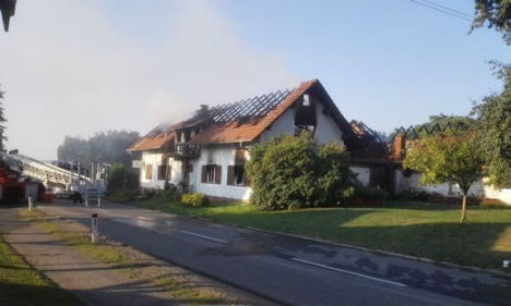 Man and two children die in house fire