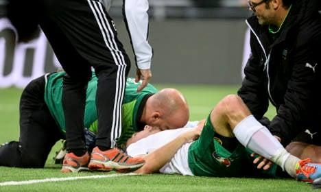Striker tells of 'knockout' by Swedish derby goal