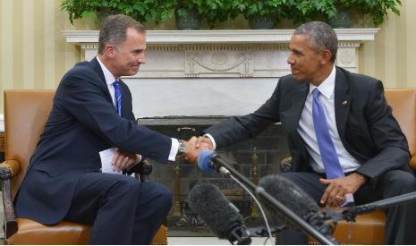 Obama backs 'strong and unified' Spain amid Catalan breakaway bid