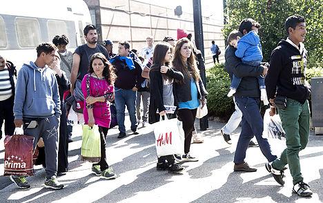 Denmark rejects EU call for refugee quotas