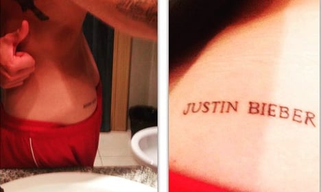 Swede wakes up with Justin Bieber on buttock