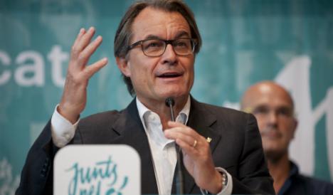 Catalan government slams 'political lawsuit' brought against Artur Mas