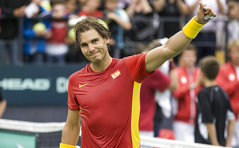 Nadal wins in Denmark on Davis Cup return