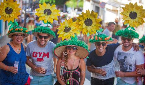 In pics: Spain's wacky hat festival