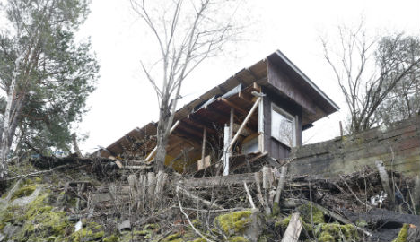 Norway man sawed neighbour's house in half