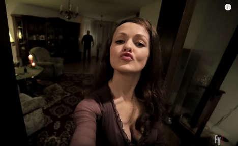Student's selfie horror short storms the internet