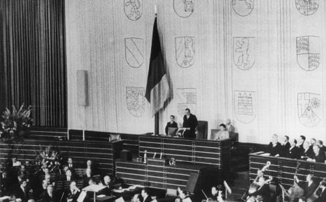 1949: the birth of modern German democracy