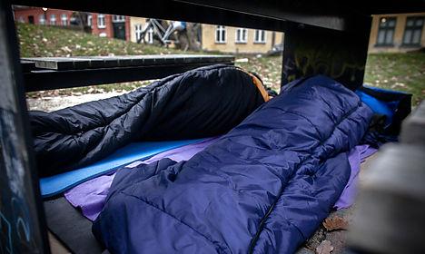 Homelessness on the rise in Denmark