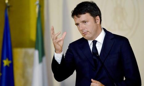 Renzi gambles on EU backing bumper budget