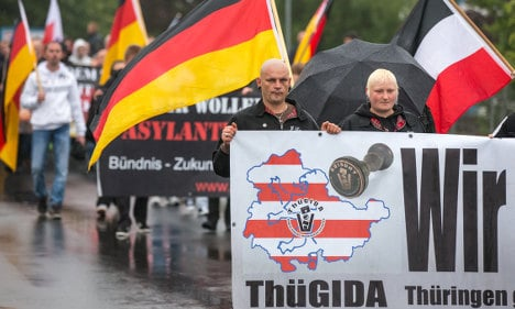 German far-right 'moving against migrants'