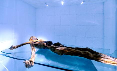 5000 years on ice: Ötzi, Europe's oldest celebrity