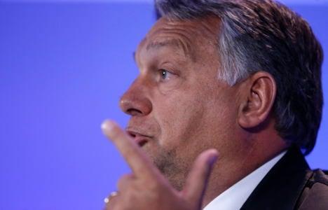 Orban: Muslims threaten European identity