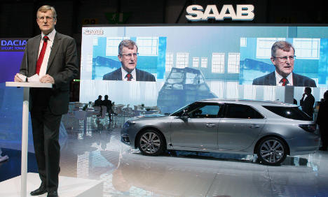 Former Swedish Saab bosses appear in court