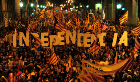 For or against? Famous people have their say on Catalan independence