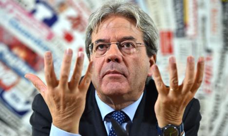Italy calls for single EU policy on asylum