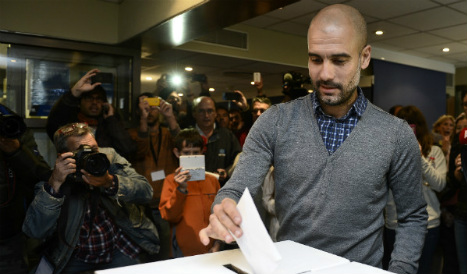 Pep Guardiola 'would gladly have played for a Catalan national team'