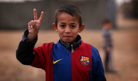 FC Barcelona join forces with Red Cross in drive to support refugees