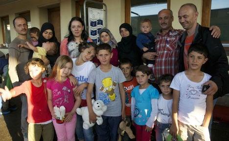 Train of Hope helps refugee arrivals