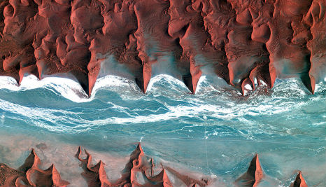 Satellite photos of Earth on show in Linz