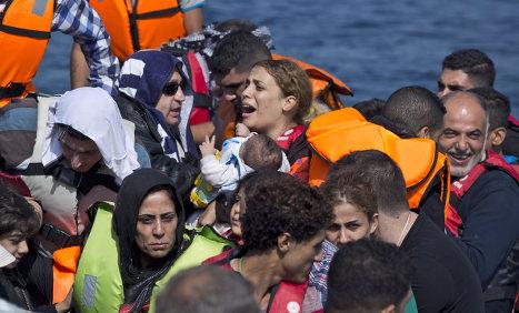 Record numbers seek asylum in Sweden