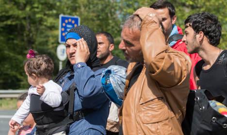 Refugee numbers back up despite border checks