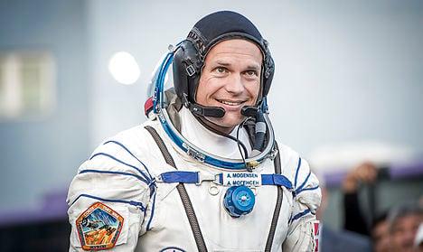 Denmark's first astronaut docks on ISS