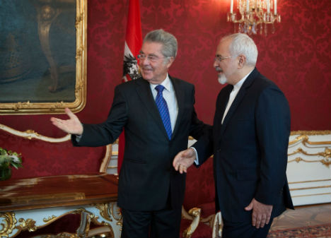 Austrian president criticized for Iran visit