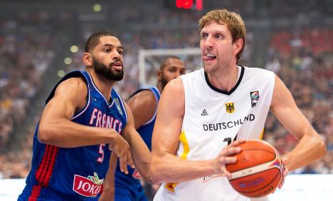 Berlin hotel extends beds for basketball giants
