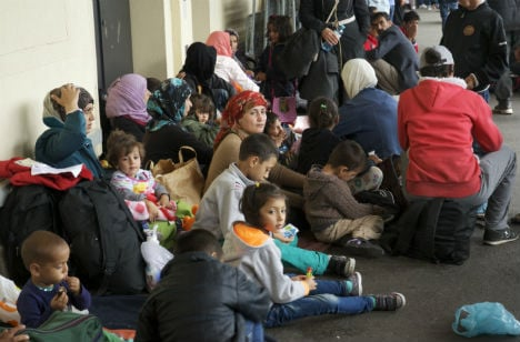 Relief for refugees who make it to Austria