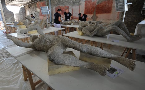 Scans show Pompeii victims 'in good health'