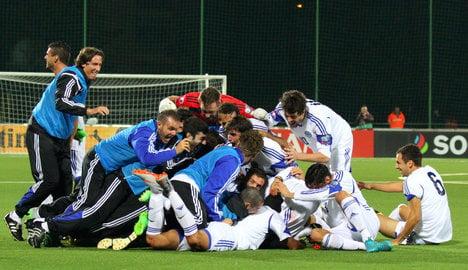 Screamer breaks San Marino's 14-year drought