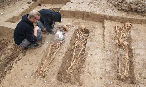 Bodies of 200 Napoleonic troops found in Germany