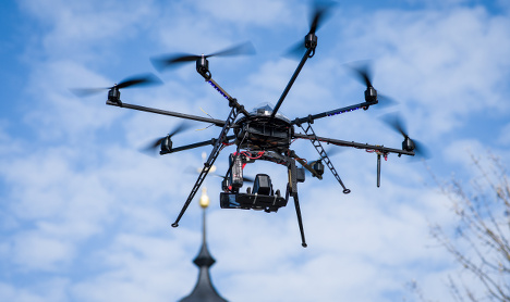 German tourists detained for Kremlin drone flight