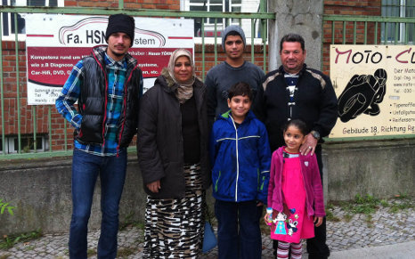 Family who were face of crisis find home in Berlin