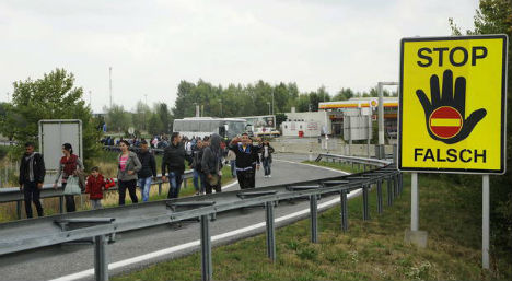 Spielfeld prepares for thousands of refugees
