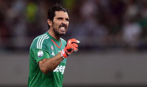 Forget scudetto talk, Buffon tells Juventus