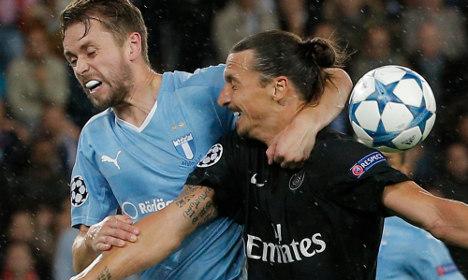 Malmö coach upbeat despite defeat in Paris