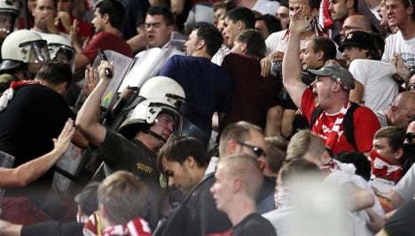 Greek police batter Bayern fans in Athens