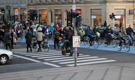 Danes want pedestrians to use hand signals