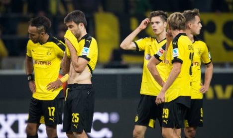 Dortmund draw leaves Bayern 4 points clear