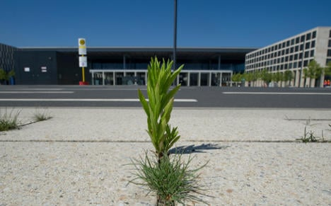 Berlin's blighted new airport is hit with tourists