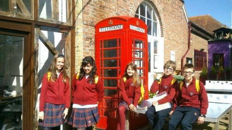 Spanish school's uniform makes it onto the pages of American Vogue