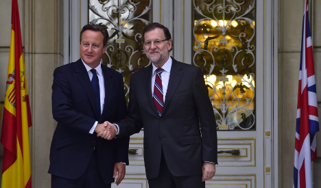 UK and Spanish PMs hold Madrid talks over deepening refugee crisis