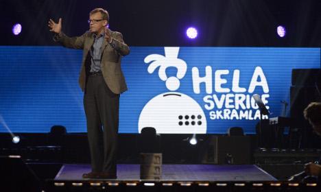 Hans Rosling is Swedish hero after mega lecture
