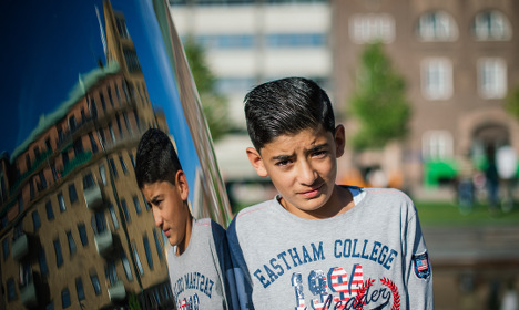 10,000 kids have fled to Sweden on their own